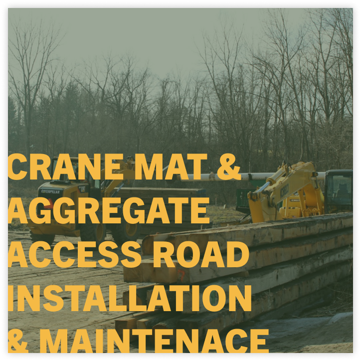 access road installation company