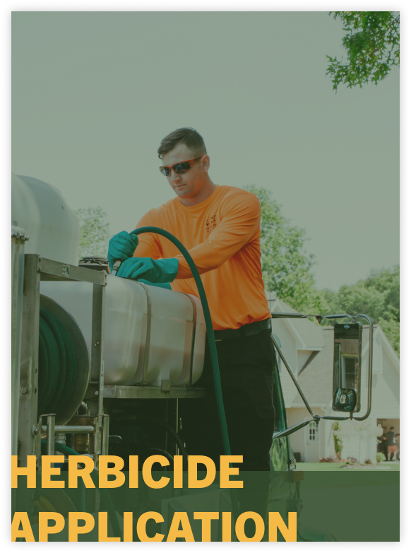 herbacide application