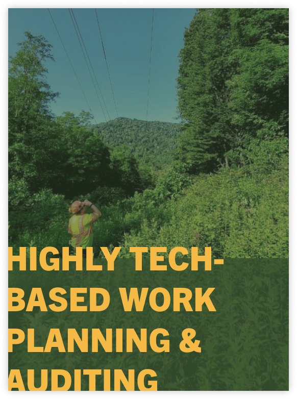 tech based work planning and auditing